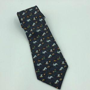 Hermès Rabbit Hole  Tie  7689 OA